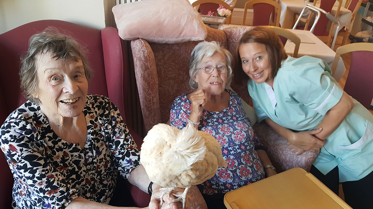 Residents at Beulah Lodge Rest home in Tunbridge Wells